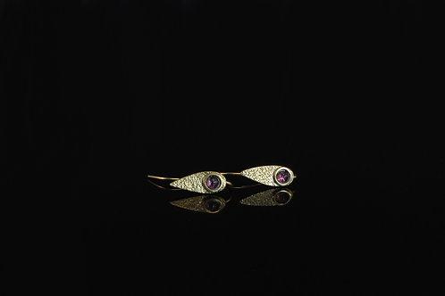 Amethyst earrings  £120