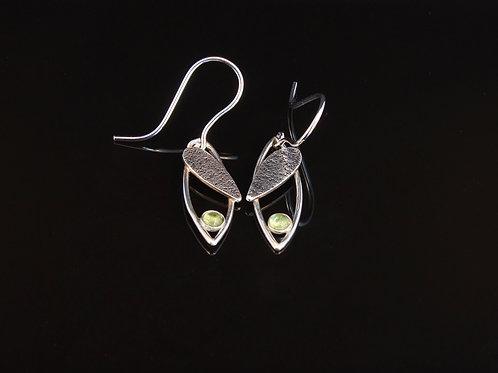 Peridot marquise drop earrings  £110