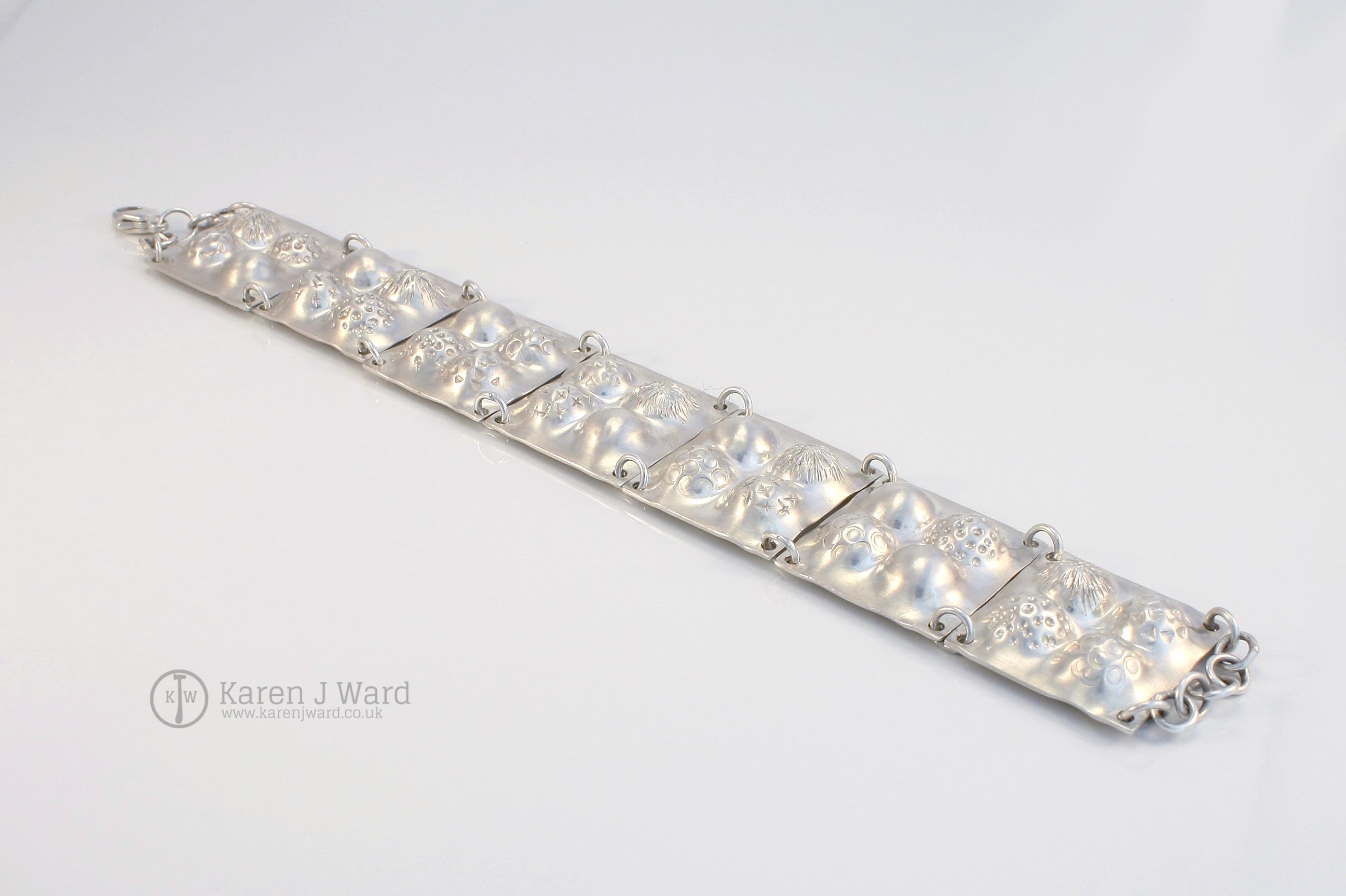 Textures bracelet