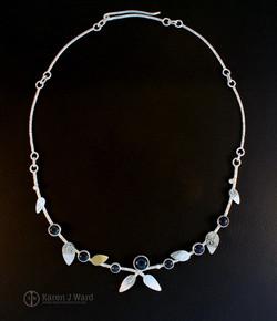 Sloe berry neckpiece