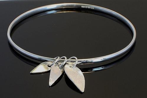 Three leaf bangle £120
