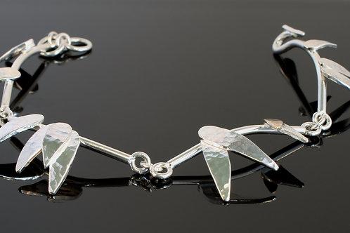 """Rain shower"" leaf bracelet  £320"