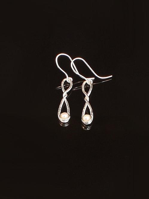 Snowberry earrings  £110