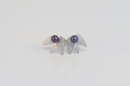 """""""Frost"""" pearl studs £100"""