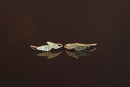 Dual leaf earrings  £95