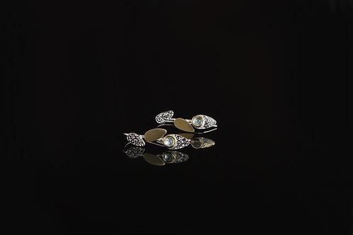 Blue topaz earrings  £150