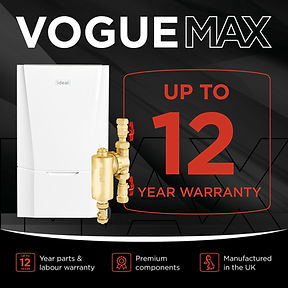 Vogue max, Denton plumbing & heating Ltd