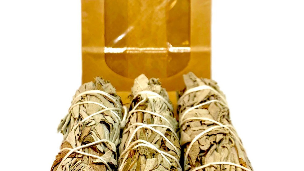White Sage Smudge Pack of 3