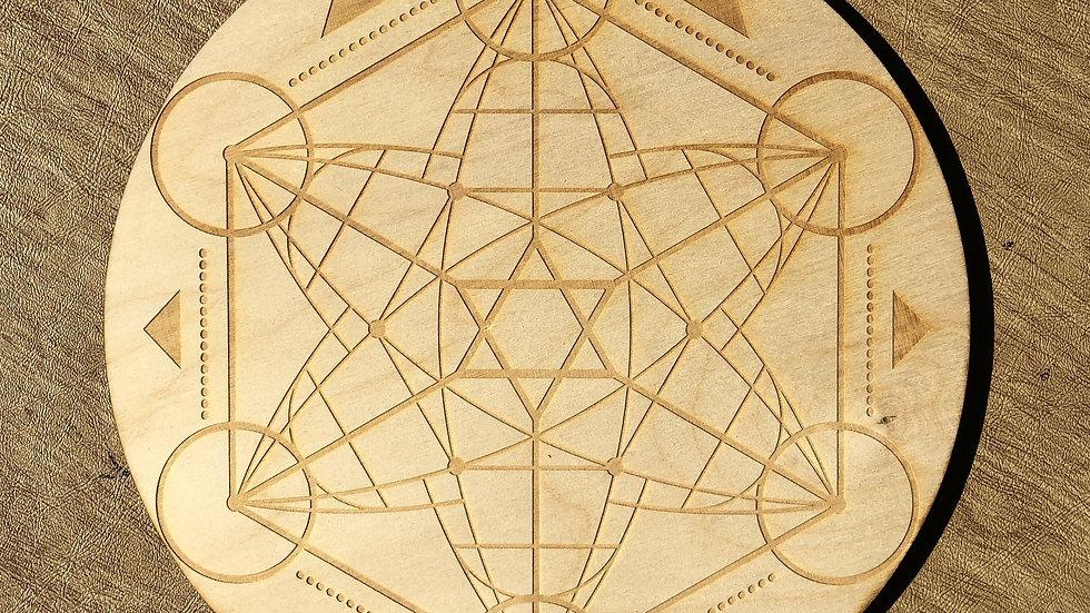 Hexagon Star Crystal Grid