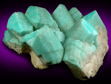 Amazonite crystal and its energies