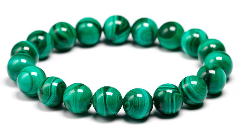 AAAAA Natural Malachite Bracelet Women
