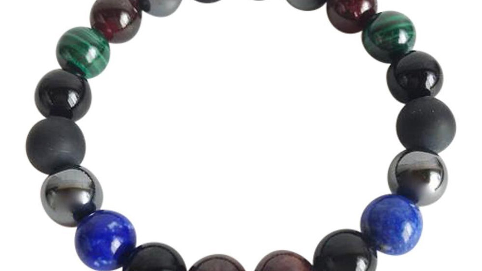 Business Boost  Black Onyx, Garnet, Hematite, Lapis Lazuli & Malachite