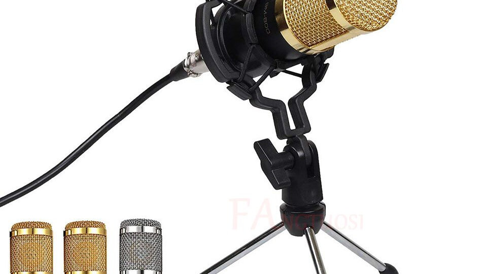 BM 800 Microphone Condenser Sound Recording Microphone