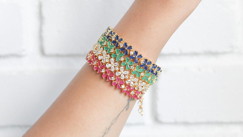 Crystal Bombay Sunset Bracelet