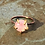 Thumbnail: Rose Quartz Prong Ring