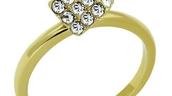 TK1725 IP Gold(Ion Plating) Stainless Steel Ring