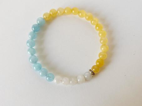 Aquamarine crystals and karma