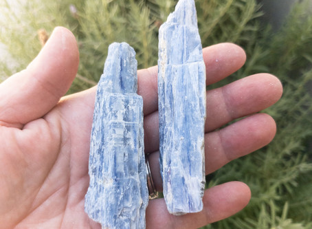 NEW! Blue Kyanite Blades