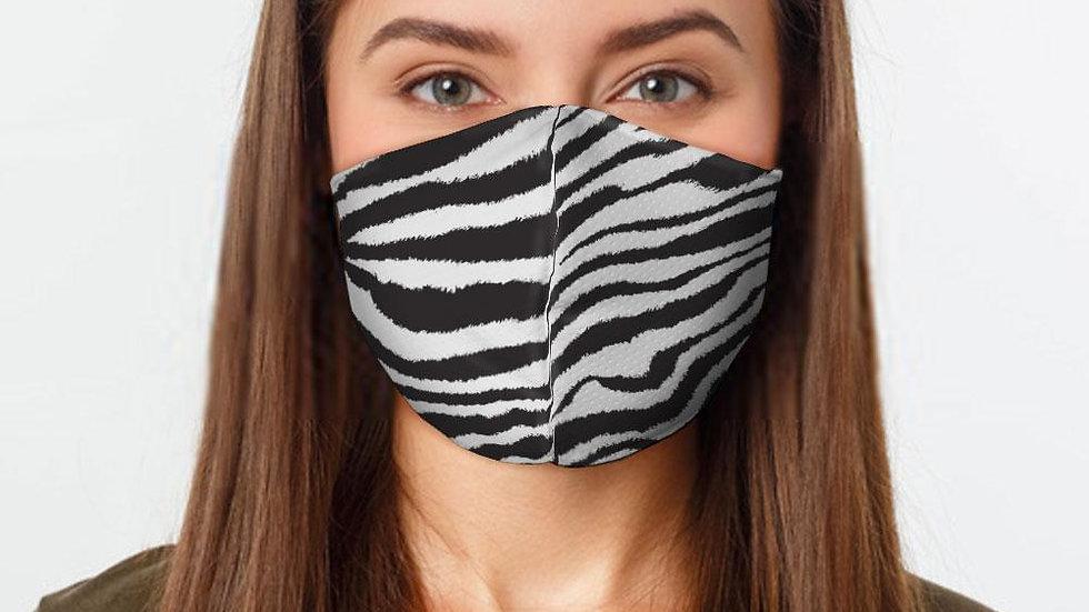Zebra Print Face Cover