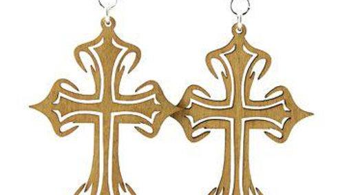 Cross Earrings # 1226