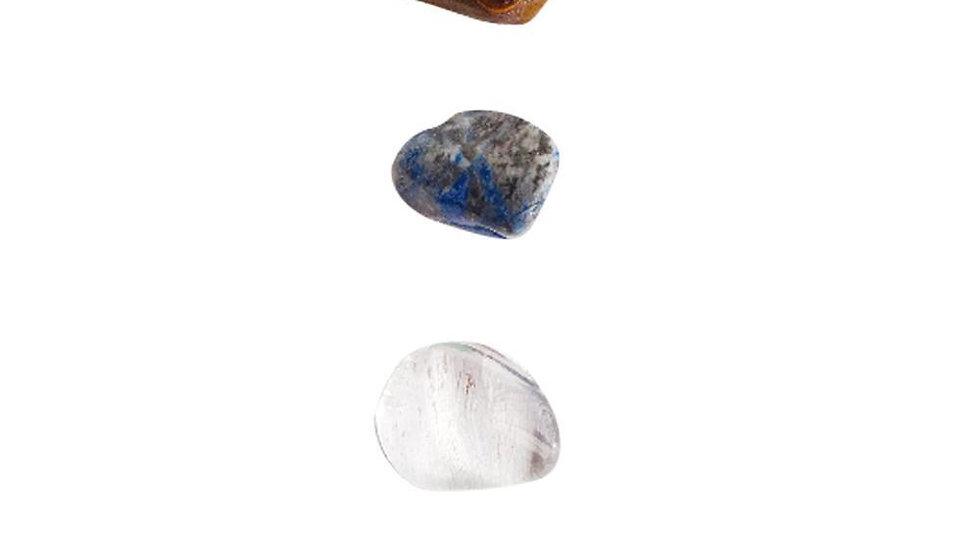 Increase Your Skills * Tiger Eye, Crystal Quartz, Aventurine & Lapis Lazuli