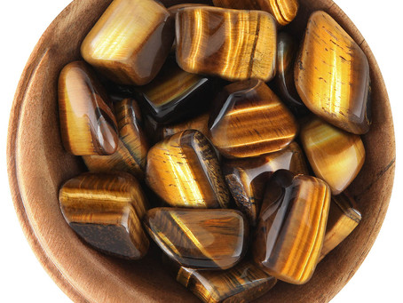Tigers eye Helps you create a high vibrational state!!