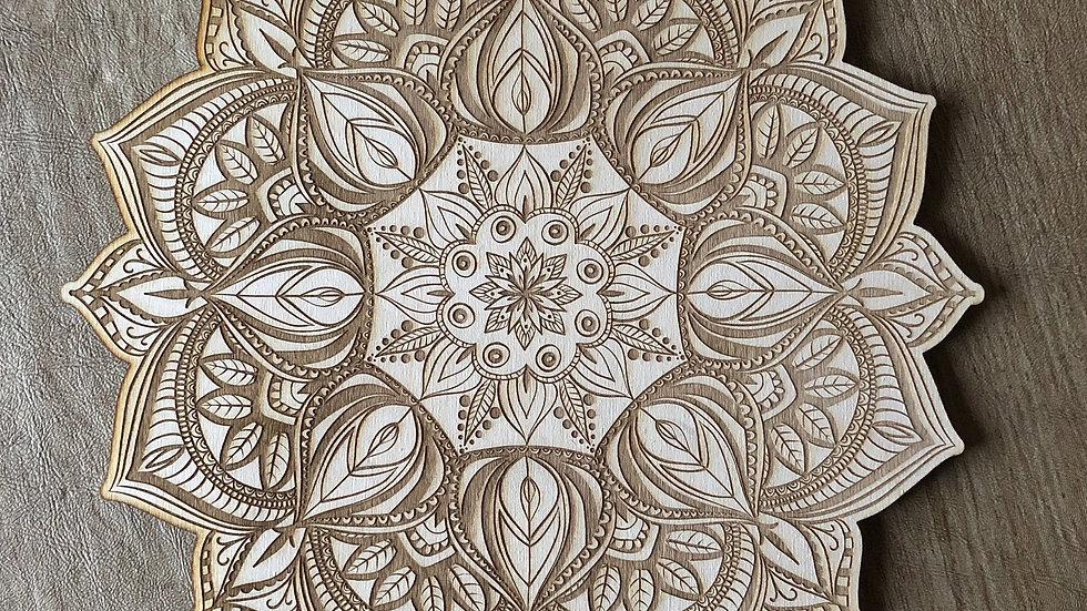 Mandala Crystal Grid #16