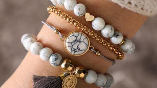 Four Piece Bracelet Set