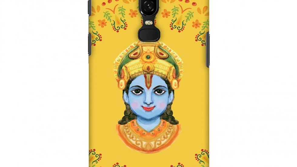 Almighty Krishna 3 Slim Hard Shell Case For