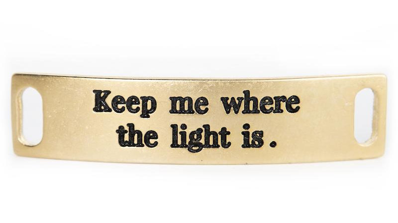 """Sentiment, """"Keep Me Where the Light Is."""""""