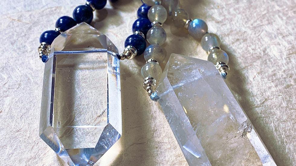 Power Quartz Crystal Necklace