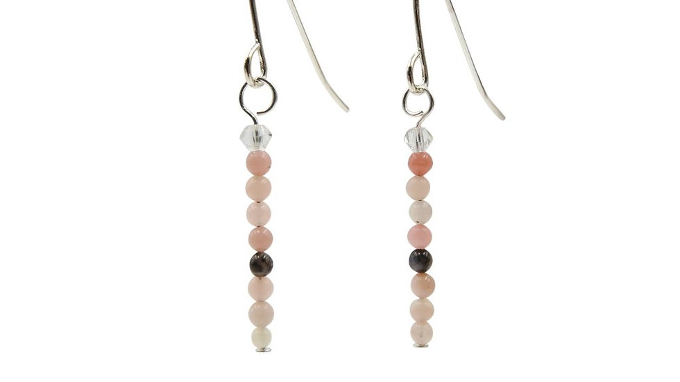 Blushing Pink Opals & Crystals