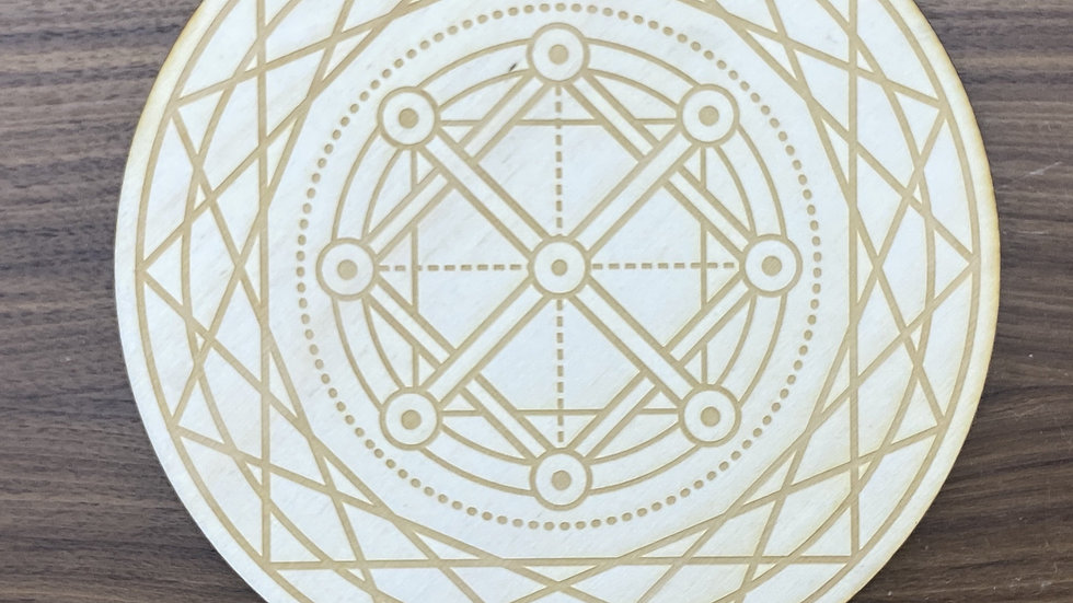 Double Square Crystal Grid