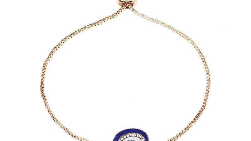 Lucky Eye Turkish Adjustable Bracelet