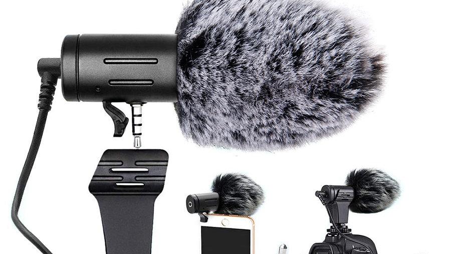 MAMEN 3.5mm Plug Camera Microphone