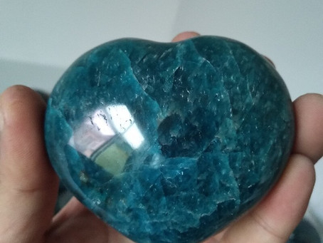 Apatite the inspirational crystal