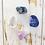 Thumbnail: Third Eye Chakra * 4 Piece Stone Set * Lapiz Lazuli, Crystal Quartz,