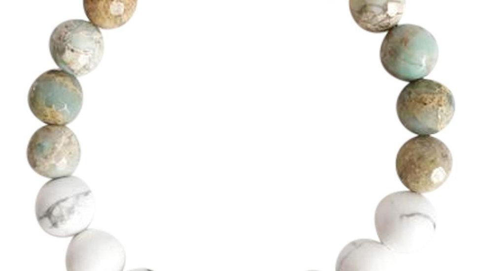 Balancing Energy Mix  Gemstone Mix Bracelet