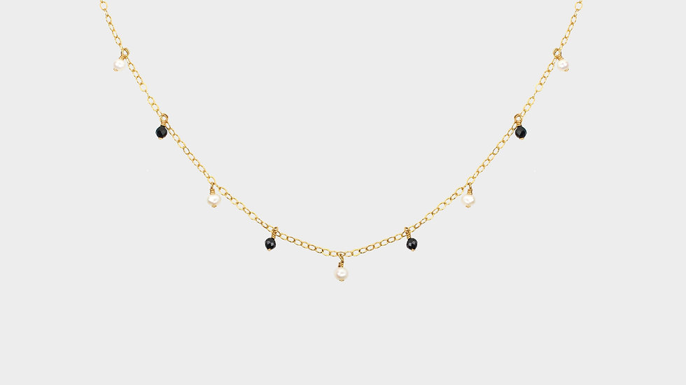 MiniDot Necklace: Panda