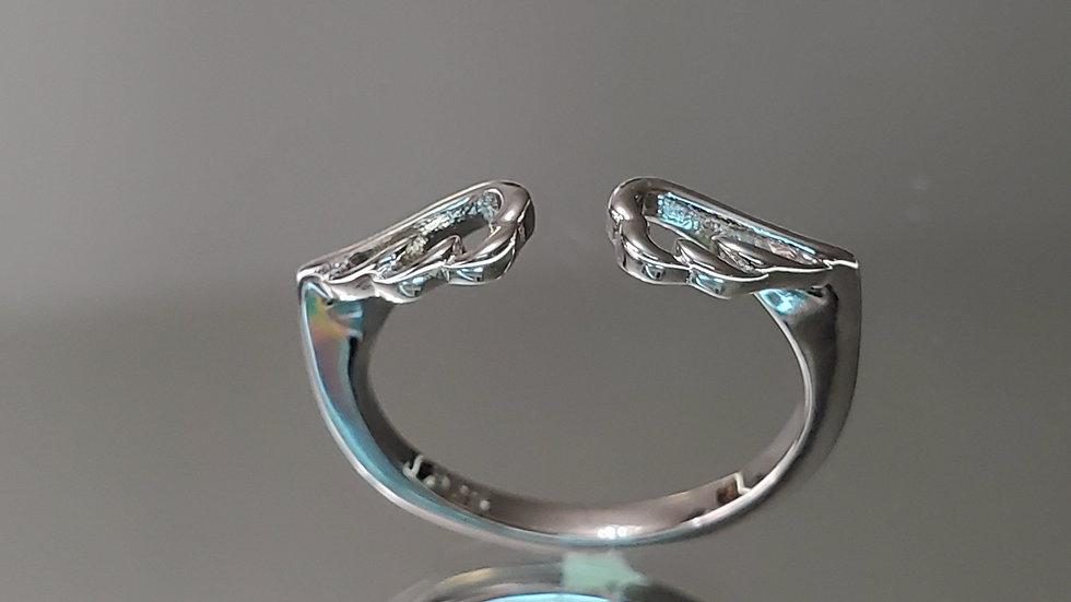 Spiritual Angel Wings Ring