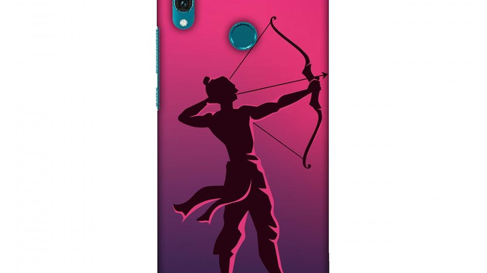 Almighty Ram 1 Slim Hard Shell Case For Huawei Y9