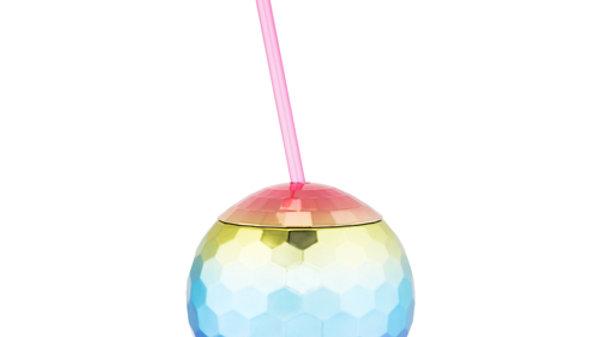 Rainbow Disco Ball Tumbler by Blush®