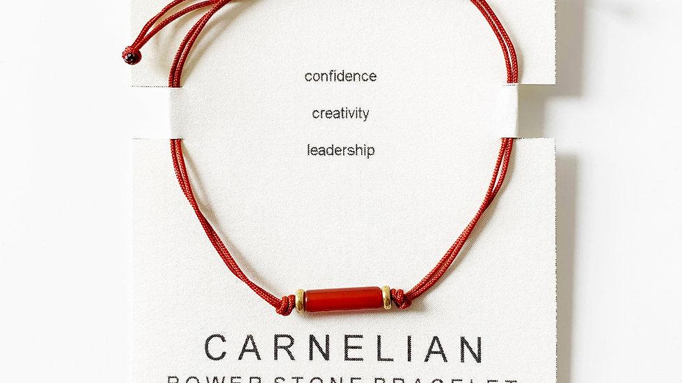 Carnelian Power Stone Bracelet