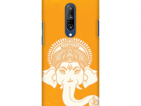 Almighty Ganesha Slim Hard Shell Case For OnePlus