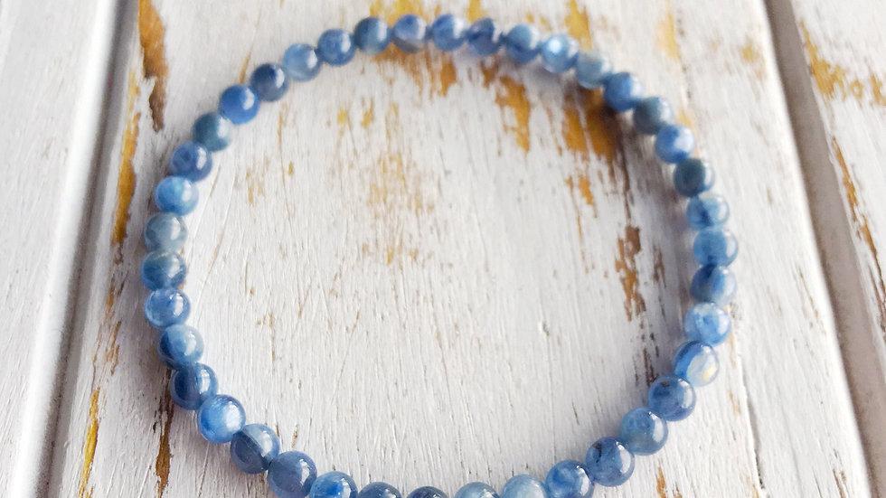 6mm Blue Kyanite Bracelet