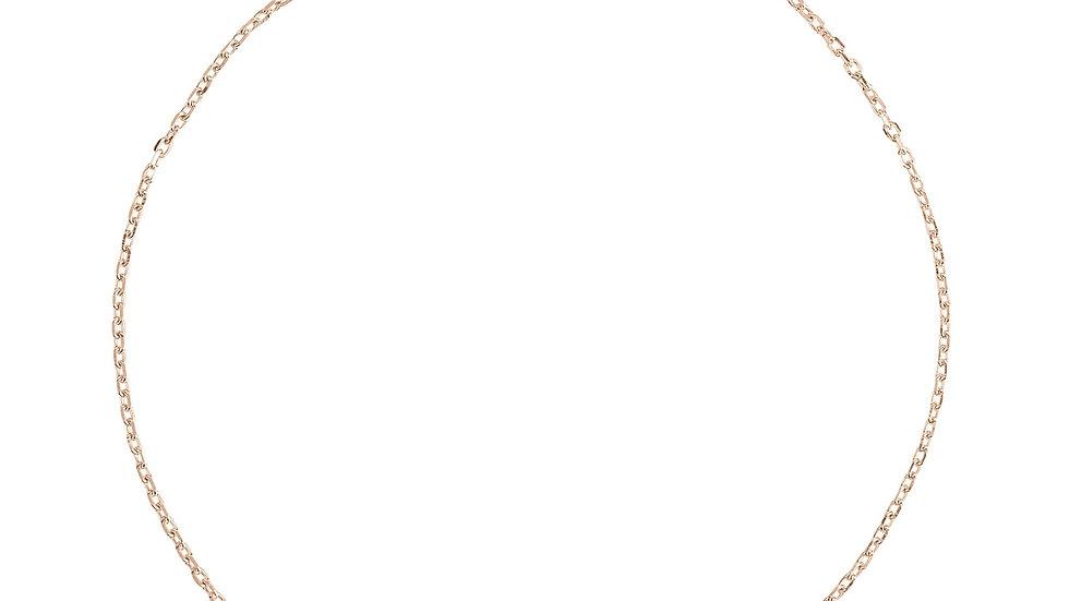 Pisa Mini Teardrop Bracelet Rosegold Pink Tourmaline