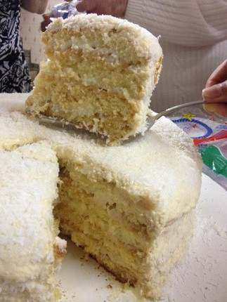 Coconut Cake Slices - Open Market