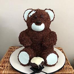 O bolo fofo da vez! #teddy #teddybear #t
