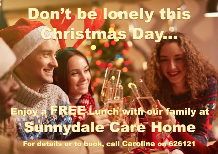 Join us at Sunnydale for Christmas lunch!