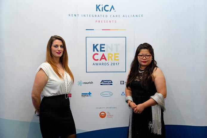 Congratulations Nita, winner at Kent Care Awards!